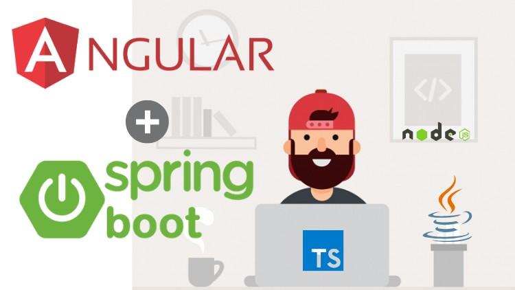 Angular 9 + Spring Boot 2.2: Fullstack Completo e Atualizado