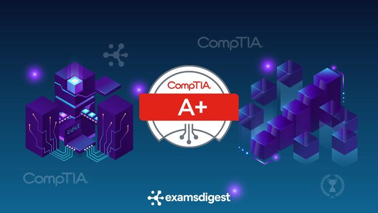BUNDLE: CompTIA A+ (220-1001 & 220-1002) Exam Prep Simulator