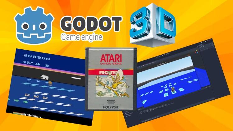 Godot 3D 3.2.3 + Blender - Remake Atari Frostbite  em 3D!