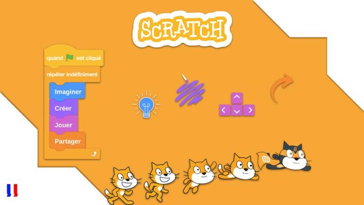 Apprendre à coder pas à pas avec Scratch – Enfants/Adultes