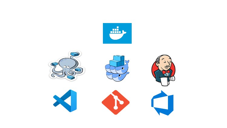 Apprenez CI/CD Jenkins Docker swarm, Monitoring, Git DevOps