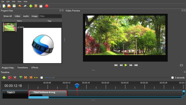 OpenShot Video Editing for beginners