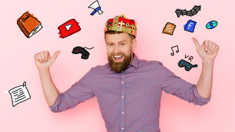 Werde König im Content-Marketing