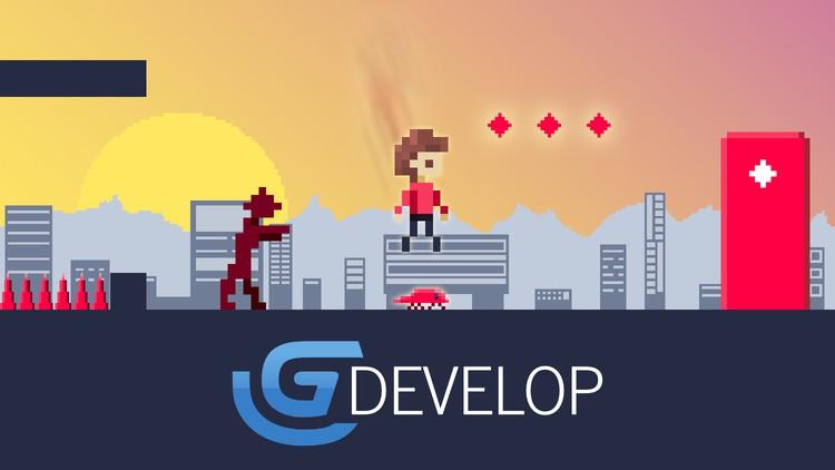 GDevelop 5: Spieleentwicklung für Anfänger (2D Plattformer)