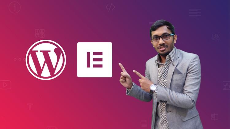 एलिमेंटर वापरुन एक वर्डप्रेस वेबसाइट बनवा - भाग 2